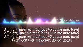 Mabel   Mad Love Lyrics, Apple Noona #mabel #madlove #lyrics