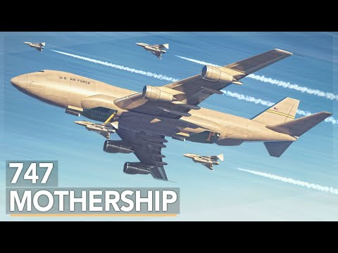 The Air Force's Crazy 747 Aircraft Carrier Concept (2019) [CC]