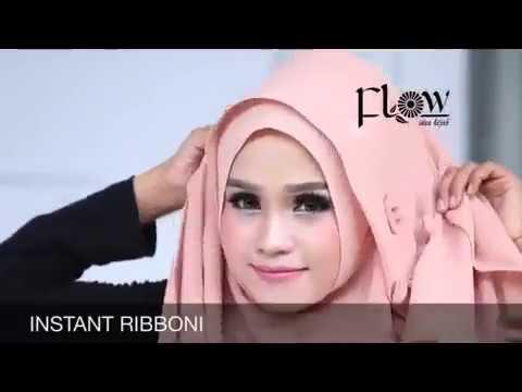 Video Hijab Tutorial Instan Ribboni by Flow Idea Hijab