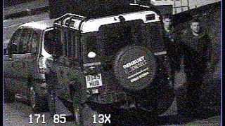 preview picture of video 'CCTV of attempted Defender theft 15/10/13 around 11pm'