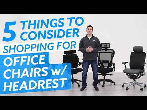 Shopping For Office Chairs with Headrests: 5 Things to Consider