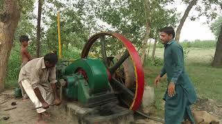 21 HP Michils Beautiful Desi Engine Working With Chakki Atta Ruston Hornsby Pak India