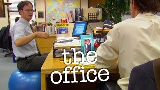 Dwight's Fitness Orb  - The Office US