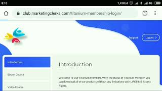 Membership For Online Business eCourse and Tools