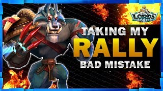 HE WANTED TO TAKE MY RALLY - LORDS MOBILE - MISTER BP GAMING