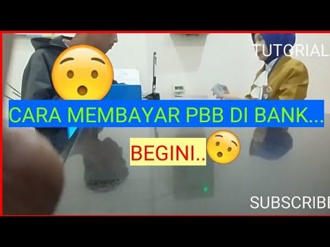 #TUTORIAL CARA MEMBAYAR PBB DI BANK..