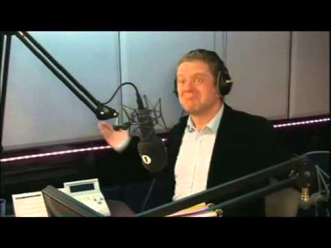 Interview on The Chris Moyles Show (2012)
