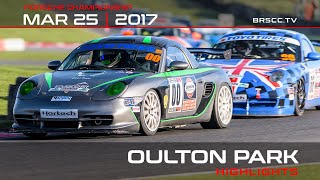 Porsche_Cup - OultonPark2017 Rounds1 and 2