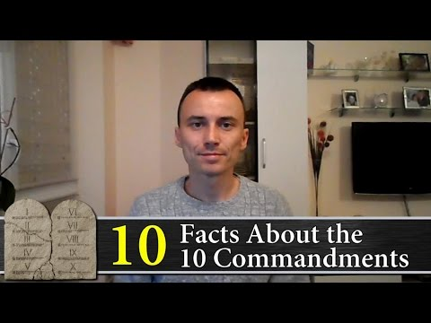 10 Facts About the 10 Commandments   God's Law