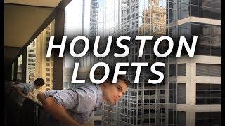 Houston Apartment Tour: Downtown Loft - VLOG #2