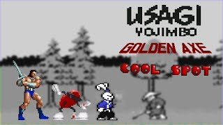 Usagi Yojimbo, Golden Axe, Cool Spot - RetroArcade #15