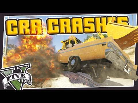CRAZY CAR CRASH MOD! GTA 5 Mods!