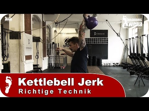 Single-Arm Kettlebell Jerk | Tutorial zur richtigen Technik