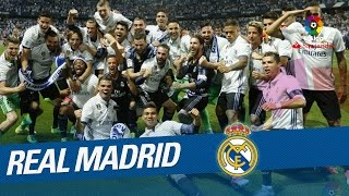 Celebración Del Real Madrid, Campeón De LaLiga 2016/2017