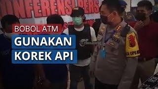 Gasak Rp200 Juta di ATM Menggunakan Korek Api, Dua Orang di Jawa Barat Ditangkap