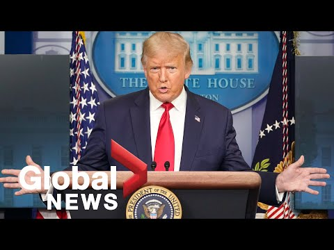 Trump defends his COVID-19 response, reacts to brother's hospitalization in press briefing | FULL