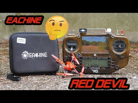 Eachine Reddevil from banggood review