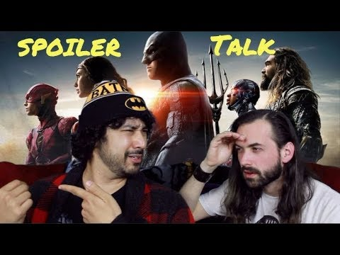 JUSTICE LEAGUE   SPOILERS TALK!!! (Movie Review)