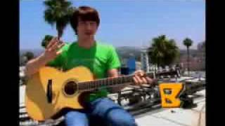 "Guitar Lesson 1 & 2 From Drake BELL ""i Found A Way"""