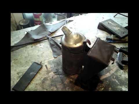 Пчеловодный дымарь ремонт