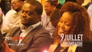 Pasteur Moise MBIYE - Point de presse et Concert Lubumbashi 09 Juillet
