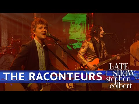 The Raconteurs Perform 'Help Me Stranger' - The Late Show With Stephen Colbert