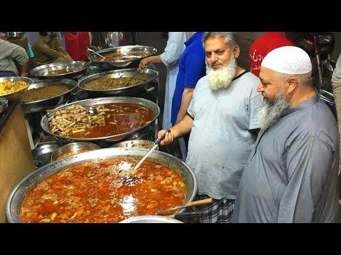 Sufi Nan Center, Khoye Wale Mutton Chaney | Nilli Nihari | Siri Paye | Ojri | Kartarpura Street Food