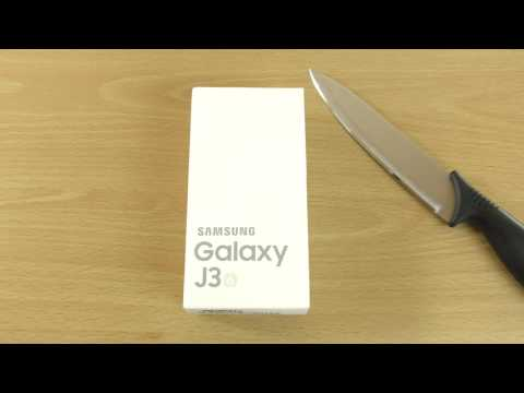 Samsung Galaxy J3 (2016)  Unboxing
