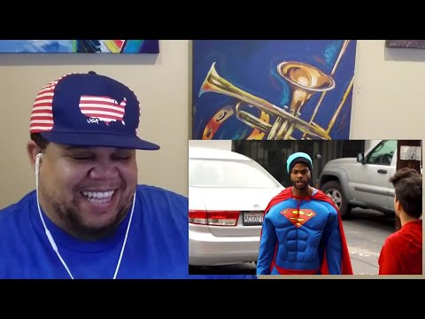 RACIST SUPERMAN FEATURING RUDY MANCUSO, KING BACH & LELE PONS -  REACTION | NonPfixion