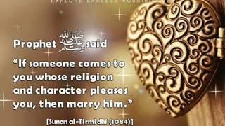 Islamic MARRIAGE Quotes || Best Marriage Teaching For Peaceful Married Life|| Love Yourself