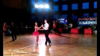 preview picture of video 'Samba, pow.15, klasa E, Turniej Tańca, Sułkowice 03.02.2013'