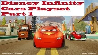 Let's Play Disney Infinity Cars Part 1 - Welcome to Radiator Springs
