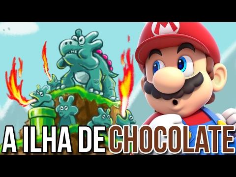 ILHA DE CHOCOLATE, QUE DELÍCIA – Super Mario