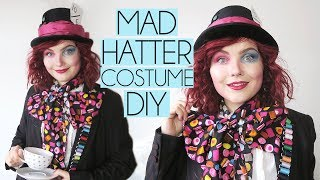 MAD HATTER EASY DIY COSTUME & MAKEUP TUTORIAL