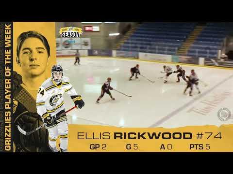 Ellis Rickwood | April 5 | Grizzlies Player of the Week!