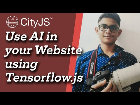 Image thumbnail for talk Use Ai in your Website using Tensorflow.js