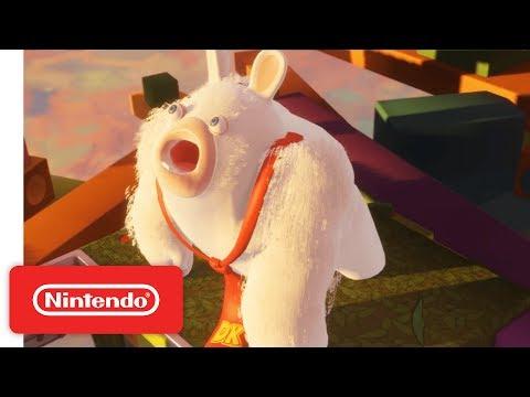 Mario + Rabbids Kingdom Battle - World 1 Battle & Boss Demonstration - Nintendo E3 2017 thumbnail