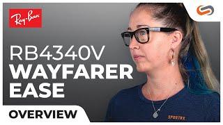 Ray-Ban RB4340V Wayfarer Ease