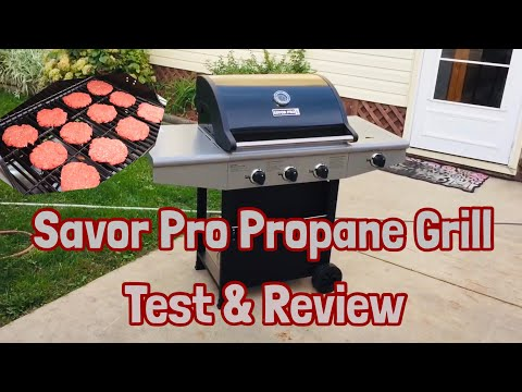 Savor Pro Propane Grill. Test-and-Review. -Kasket-