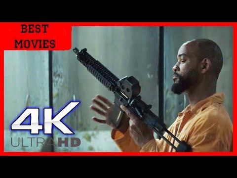 Дэдшот показывает свои Навыки Стрельбы | Отряд самоубийц | 4K ULTRA HD