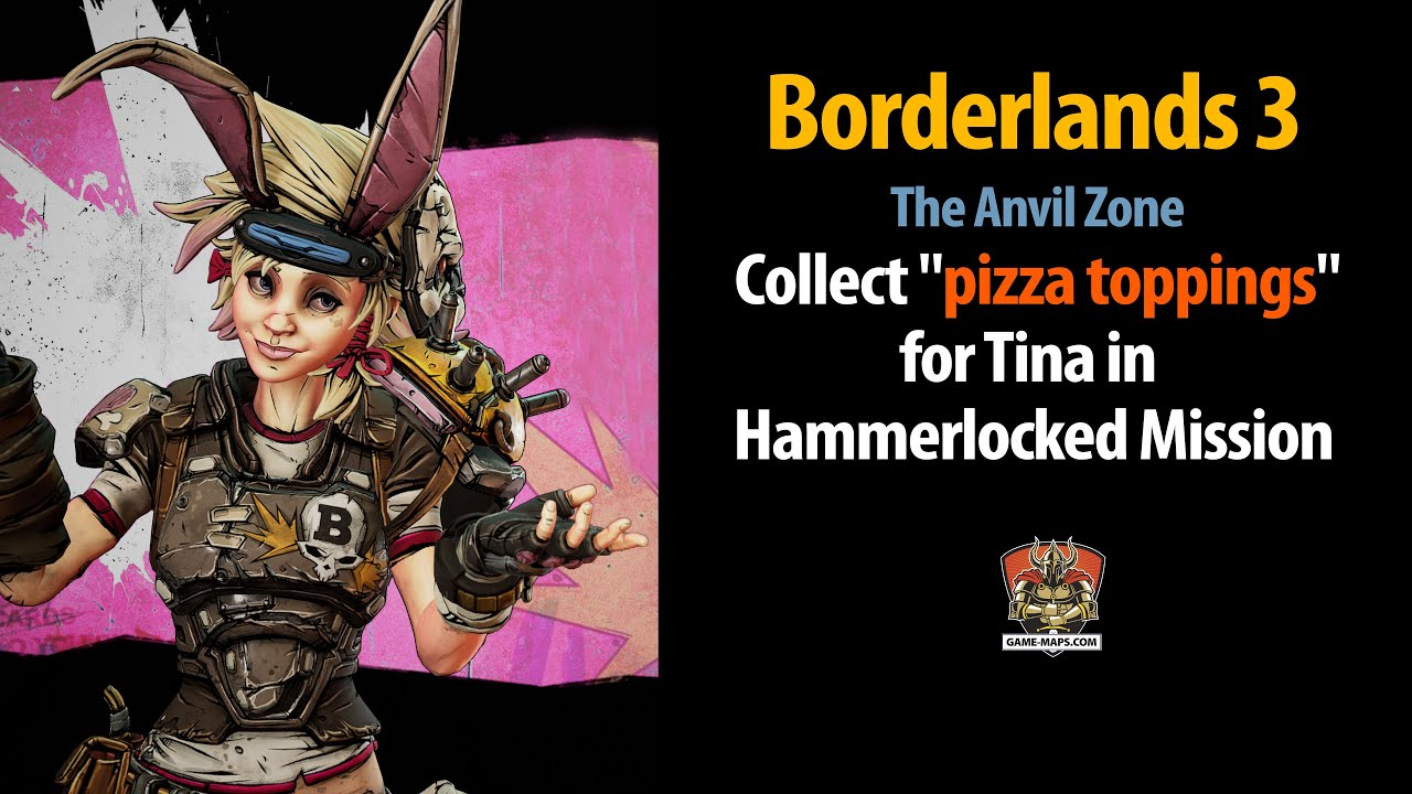 Video The Anvil - Collect pizza toppings for Tina in Hammerlocked Mission