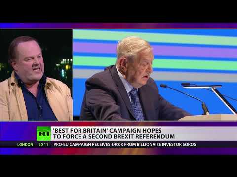"""Wiffen: """"Soros has never had Britain's best interests at heart"""""""
