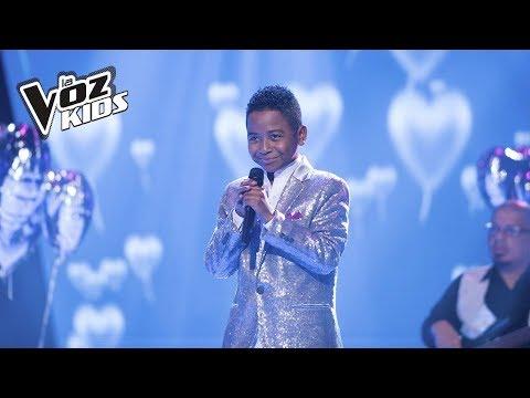Carlos Mario canta Mi Buen Amor   La Voz Kids Colombia 2018