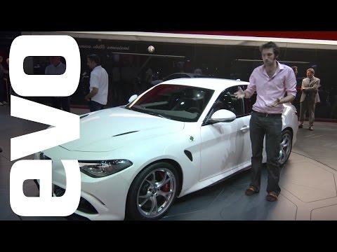 Alfa Romeo Guilia at Frankfurt 2015 | evo MOTOR SHOWS