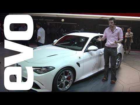 Alfa Romeo Guilia at Frankfurt 2015 | evo MOTOR SHOWS