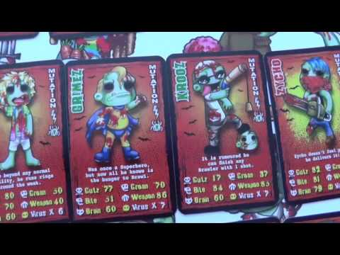 Zombie Brawlerz Card Game   What's In The Box?