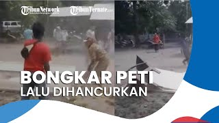 Viral Warga Situbondo Bongkar & Rusak Peti Pasien Covid-19, Kades: Ingin Pastikan Sudah Dimandikan