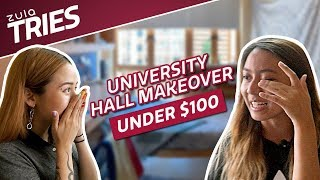 University Hall Room Makeover Under $100 | ZULA Tries | EP 25