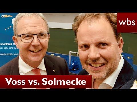 "Artikel 13: Voss vs. Solmecke - Politiker entschuldigt sich bei ""Bots""| RA Christian Solmecke"