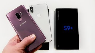 Samsung Galaxy S9+ глазами яблочника